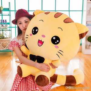 Wholesale 20cm big face cat doll plush toy cute pillow Plush Animals dolls Valentine s Day gift