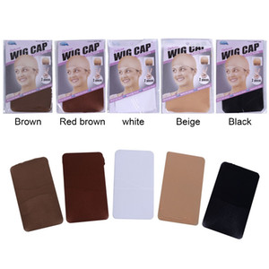 Wholesale 2 Pieces Pack Wig Cap Hair net for Weave Hairnets Wig Nets Stretch Mesh Wig Cap for Making Wigs Free Size