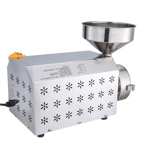 Wholesale Qihang_top High Efficiency Commercial Grain Grinder Electric Grinding Machine For Corn Soy Bean Crusher Grains Mill Price