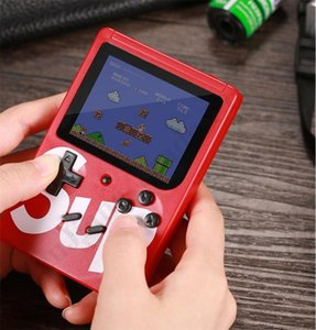 Wholesale SUP Mini Handheld Game Console Supre Letters Nostalgic Game box Player in Games LCD Display Game Player Christmas Gift Kids ToyA112704