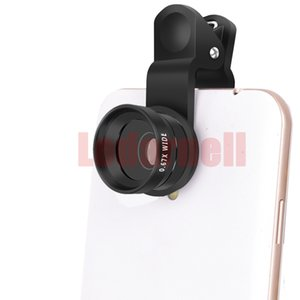 Universal Clip 4 In 1 HD Camera Mobile Phone Len Fish Eye Macro Wide Angle For 4 5 6s Plus Cellphones Mobile telescope