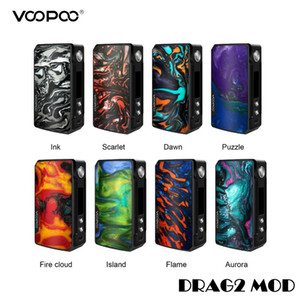 Wholesale VOOPOO Drag Mod W TC Box GENE Chip Innovative FIT Mode Powered by Dual Batteries Eletronic Cigarettes Drag2 Mods Authentic