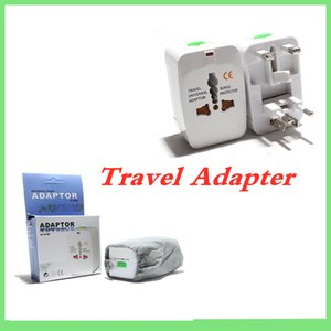 Wholesale Universal International Travel Charger AC Power Adapter with AU US UK EU Plug All in One DC Power Socket Charger Adaptors