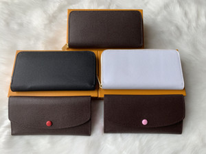 Wholesale ZIPPY WALLET VERTICAL the most stylish way to carry around money cards and coins famous design men leather purse card holder long business
