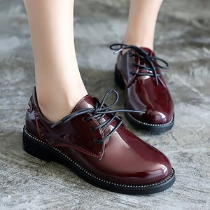 Wholesale Hot Sale Fengnong Simple Women Boots Lace Up Cute Simple Buckle Smart Shoes Girl s Smooth Pu Leather Spring Autumn Boots WBT124