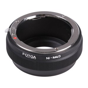 Wholesale fotga lens adapter resale online - FOTGA Adapter For AI Lens To Micro M4 G5 GF9 GH2 E P5 E E PL9