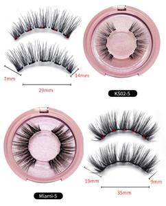 3D Mink Magnetic Eyelash False Eyelash Extension Waterproof Mink Lashes Makeup Maquiagem Eyelashes Magnetic Liquid Eyeliner 0366009