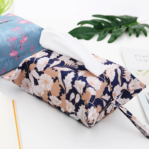 Paper Bag Paper Towel Pumping Set Waterproof Car Towel Bag Home Living Room Bedside Table on Sale