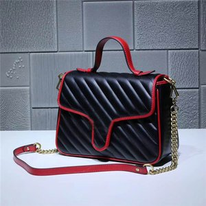 Wholesale new Global Classic Deluxe Matching Leather Shoulder Bag Best Quality Metal Chain large Handbag Size cm cm cm