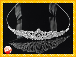 2020 Modest Bridal Accessories wedding Headpieces Tiaras Free Shipping Cheap Designer Adult Junior Girls Tiaras For Prom Party