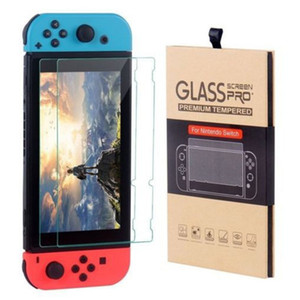Wholesale For Nintendo Switch Tempered Glass Screen Protector Film D H Premium Pack With Retail Package
