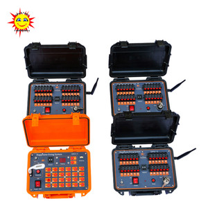 Wholesale Hot sale M long distance cues Salvo Sequential Rapid fire Wireless Remote Control Fireworks Firing System for