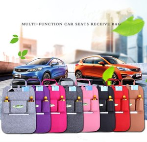 Wholesale NEW Auto Car Back Seat Storage Bag Car Seat Cover Organizer Holder Bottle Box Magazine Cup Phone Bag Backseat Organizer Z091