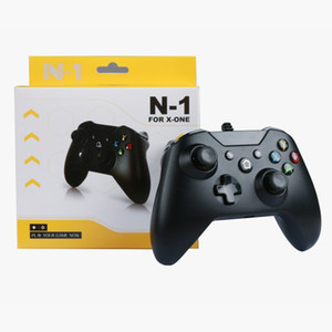 Wholesale wired video games for sale - Group buy New Arrival For Microsoft USB Game Controllers ONE Wired Controller Joystick Gamepad Video Game Controller With Retail Package
