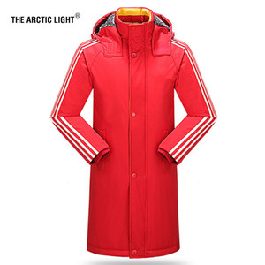 THE ARCTIC LIGHT Long Cotton Padded Jacket Outdoor Training Hiking Trekking Hunting Coat Couple Men Women Child Windbreaker