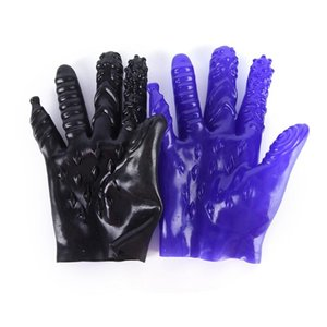 Wholesale Masturbation Gloves Plam Erotic Toys For Couples Vagina Stimulator Breast Nipple Massage Shop BDSM Toys Gloves Colors
