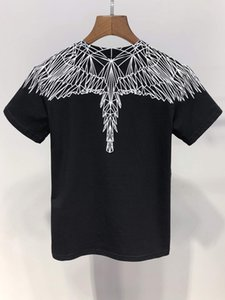 Wholesale Fashion New Angel Wings print boy girl Tops Tees summer cotton Brand Clothing T Shirt