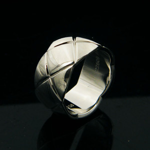 Wholesale Woman coco rings design luxury wide thin wedding man party ring