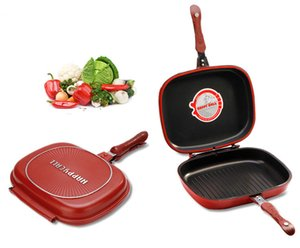 Wholesale Happycall Happy Call cm Big Size Fry Pan Non Stick Fryer Pan Double Side Grill Cooking Pan