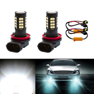 2x High Bright White Canbus H8 H11 LED Fog Light Bulbs No Error For W211 W212 W164 W221 on Sale