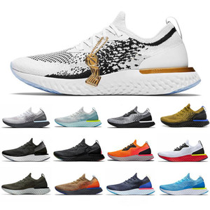 Wholesale 2019 React Element Art Of Champion Olive Platinum Running Shoes Mens Women White Black Gold Sneakers Skate Flat Jogging Sneakers Shoes