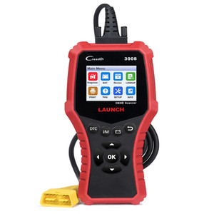 starten obd2 codeleser großhandel-LAUNCH CR3008 OBD2 Auto Scanner OBDII Motorfehlercode Lesegerät Check Engine Light Diagnostic Scan Tool