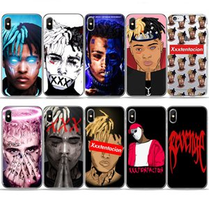 Wholesale Sad Boys Xxxtentacion Lilpeep Rapper Phone Case For Iphone s Se s s Plus Tpu Silicone Cover For Iphone X Xr Xs Max Case