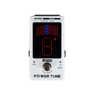 Wholesale bass pedals for sale - Group buy JOYO Power Tune JF18R Power Tune True Bypass Electric Guitar Bass Port Multi power Effect Pedal