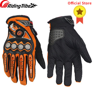 Wholesale Riding Tribe Motorcycle Protective Gloves Summer Motorbike Motocross Cycling Street Moto Racing Protection Hands Guards MCS