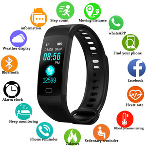 Smartwatch Electronic Smart Watch Women Men Running Cycling Climbing Sport Watch Health Pedometer LED Color Screen Women