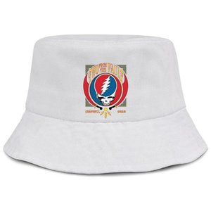 Wholesale Grateful discography Dead CD Two from the Vault white women fishing bucket sun hat design blank personalized fashion classic bucket sunc