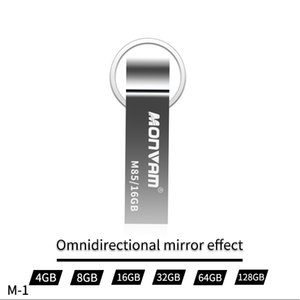 Wholesale High Quality Zinc Alloy Usb Flash Drive Secure Data Storage Flash Memory Stick Pen Drive Disk Thumb For Monvam M85