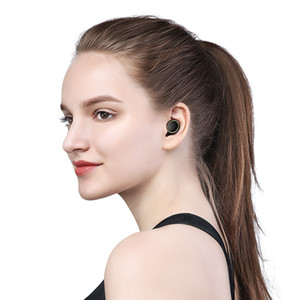 Wholesale small bluetooth earbuds for sale - Group buy 2019 Hot sale New design Wireless Bluetooth headphones earbuds Stereo Small Single Earphone with charging box Invisible Earpiece Headset
