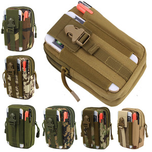 Tactical pockets Pouch Molle Hunting Bags Belt Waist Bag 6inch Military Fanny Pack Outdoor Pouches Phone Case Pocket For Iphone