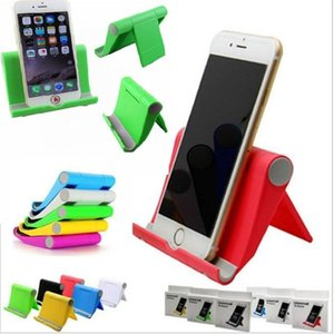 Wholesale Foldable Stand Holder Portable Desktop Adjustable Bracket Lazy Mount Holder for iphone Samsung HTC Cell phone