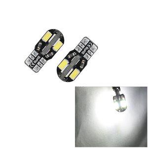 100pcs Lot T10 LED Width Lamp Car Reading Lamp 4W 5630 8-SMD Canbus Error Free White & Warm White