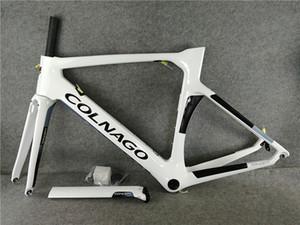 NEW Colnago Road bike Frame White full carbon fiber bicycle frameset carbon bike frame 16 different color