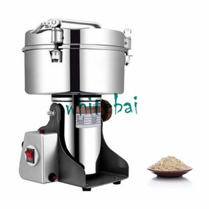 Wholesale Large Capacity G Spice Herb Salt Rice Coffee Bean Cocoa Corn Pepper Soybean Leaf Mill Food Powder Grinder Machine