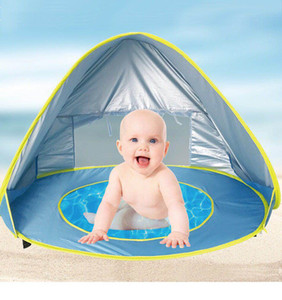 Wholesale UV-protecting Sun shelter Children 's Tent Baby Beach Tent, baby pool , infant swimming,convenience to carry