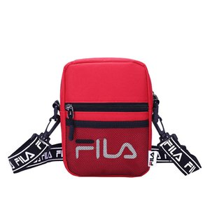 Wholesale Sports shoulder bag men and women Japanese version hip hop bag letter printing shoulder bag mesh diagonal package new factory direct sales