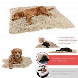 Wholesale blankets for dogs resale online - Dog Blanket Dog Bed Mats Soft Coral Fleece Paw Foot Print Warm Sleeping Beds Cover Mat For Small Medium Dogs Cats Supplies DHL