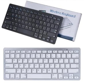 Wholesale android tablet pc windows for sale - Group buy Ultra Slim Bluetooth Keyboard Mute Tablets and Smartphones For Tablet Wireless Keyboard Style Is Android Windows PC