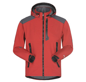 New Men Waterproof Breathable Softshell Jacket Men Outdoors Sports Coats Mountainpeak Riding Coat Jacket