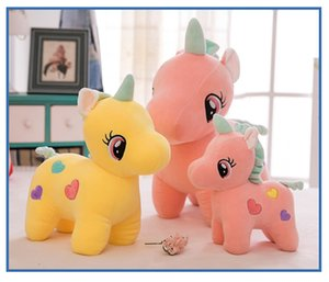 Wholesale Fun Unicorn Stuffed Animal Plush Toy Cute Gift Funny for All Ages Plush Fairy Horn Toy Easter Birthday Christmas Festival Gift