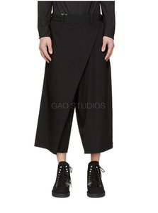 Wholesale 27 New women and men s clothing Hair Stylist GD Original Designer Street Fashion Wide Leg Pants plus size costumes