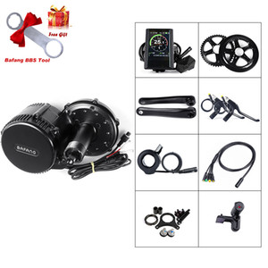 Wholesale motorized bicycles kits for sale - Group buy Bafang Motorized Bike Kits BBS02B V W Electric Bicycle Motor Electric Bike Accessory Kit with Color Display C965 for Electric Bikes