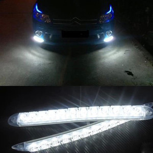 Wholesale CAR High power Silicone Daytime Running Lights Anti collision Waterproof Soft LED Working Lamp