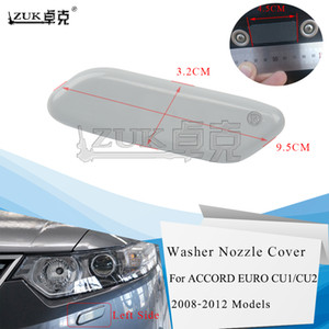 ZUK Left   Right Headlight Washer Nozzle Cover Case Cap For HONDA SPIRIOR 2009-2014 ACCORD Euro CU1 CU2 2008-2012 Base Color