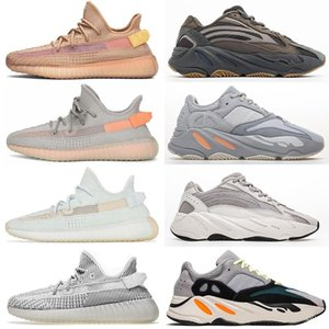 Designer Men Women Run Sport Kanye West Shoes Clay Hyperspace Ture Form Trfrm Sneaker Geode Inertia Wave Runner Mauve Static Lace Reflective on Sale