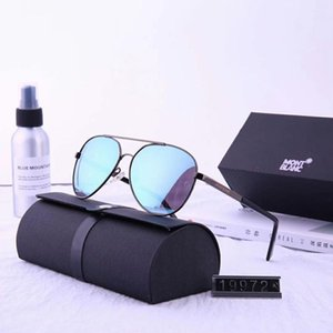 Wholesale Luxury Sunglasses Designer Sunglasses Fashion Brand MB19972 for Man Glasses Driving UV400 Adumbral with Box Hot Top Superior quality